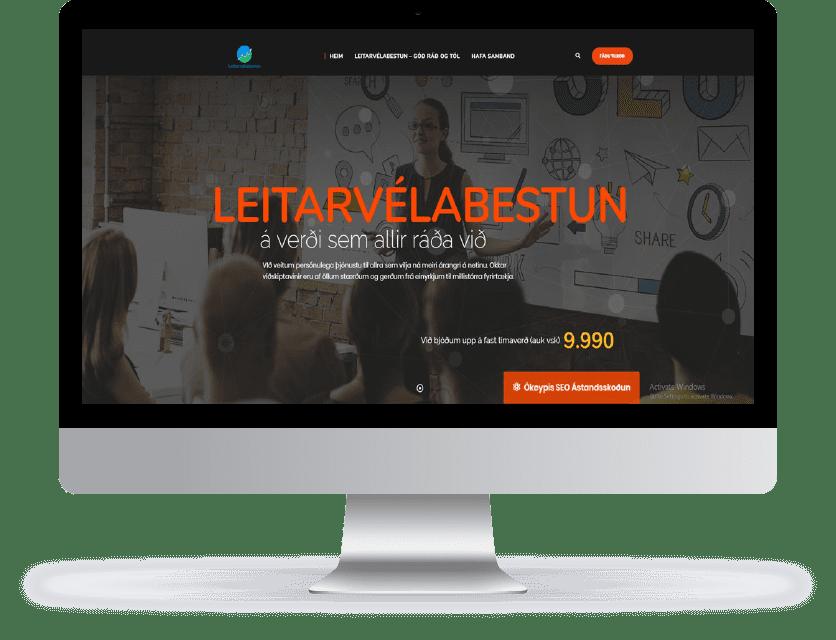 Vefsíðuger WordPress - WooCommerce Vefverslun - Leitarvélabestun